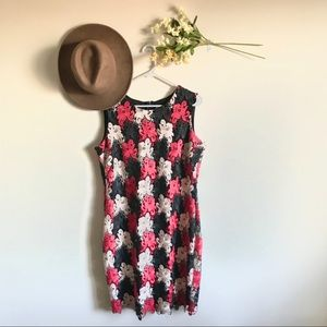NWOT Calvin Klein Floral Lace Sheath Dress